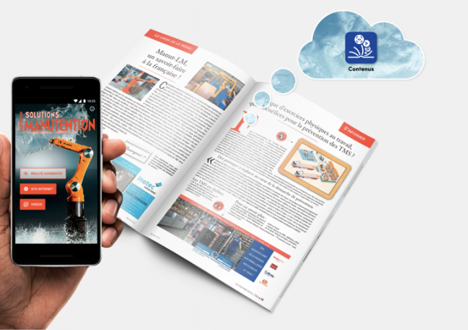 Visuel Plateforme du magazine Solutions Manutention